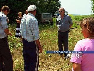 На воробьевских полях крестьяне выставляют охрану