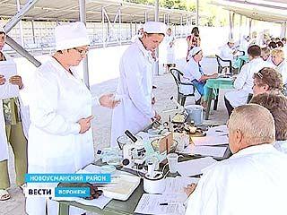 На Воронежском племенном предприятии прошёл областной конкурс операторов