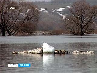 """На Воронежскую область надвигается """"большая"""" вода"""