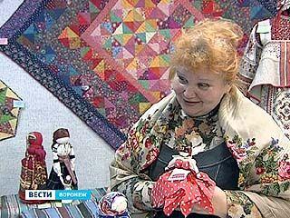"""На выставке """"Ситцевая мозайка"""" все экспонаты сделаны вручную"""