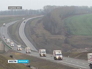 На юго-восток Украины отправилась 7-я колонна с гуманитарным грузом