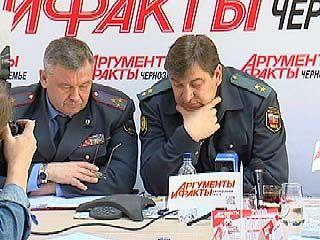 Начальник ГУВД Олег Хотин предложил воронежцу посидеть в засаде