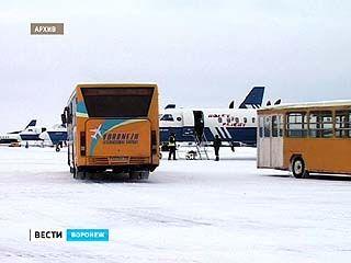 Над Воронежем была нелетная погода