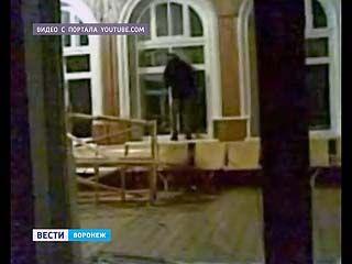 Настоящий погром устроили молодые люди на станции Давыдовка