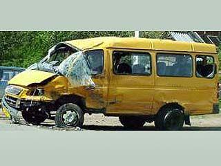 Недалеко от села Бабяково произошла крупная автоавария