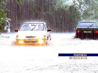 Ненастная погода доставила много хлопот жителям области