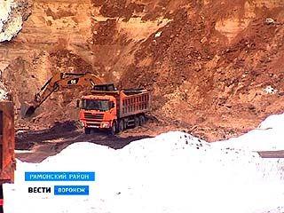 Незаконных карьеров в Воронежской области становится всё больше, а песка в них всё меньше