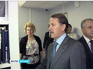 Новое здание областного суда осмотрел губернатор Алексей Гордеев