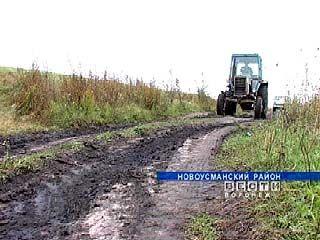 """Новоусманский фермер вынужден """"воевать"""" за проезд к своему хозяйству"""