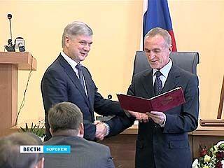 Новый мэр - новые правила. Александр Гусев присягнул на верность Воронежу