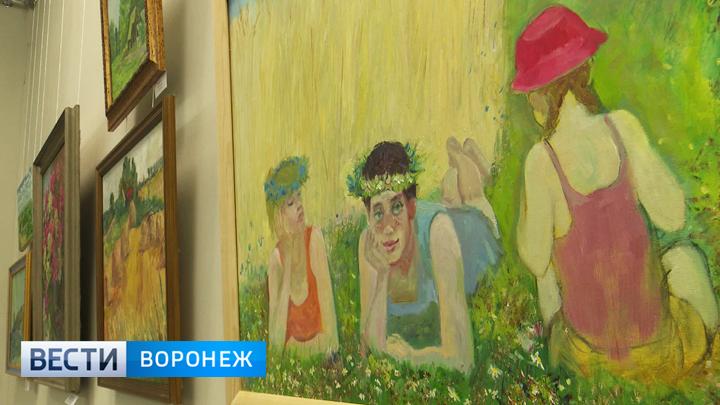 В Воронеже 70 мастеров представили на выставке работы с летним настроением
