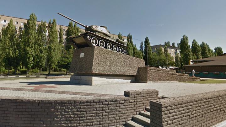 Памятник танку Т-34 в Воронеже реконструируют ко Дню города