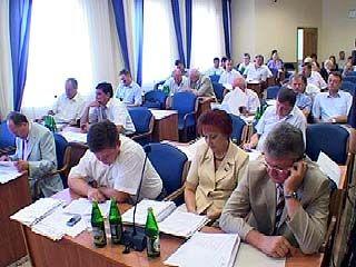 Областные парламентарии соберутся на 28 заседание