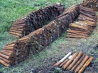 Обнаружен склад боеприпасов времен ВОВ