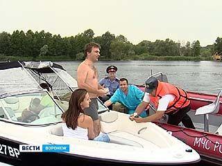 Охоту на пьяных капитанов катеров устроили сотрудники ГИМС