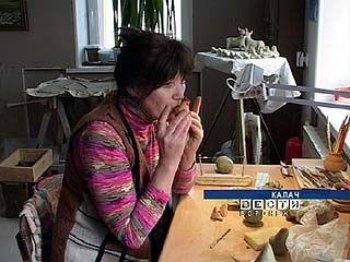 Ольга Козинина занимается возрождением народной глиняной игрушки