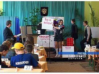 Олимпиаду по знанию избирательного законодательства провели в Лисках
