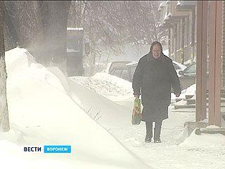 Откапывать Воронеж от сугробов будут практически до самого боя курантов