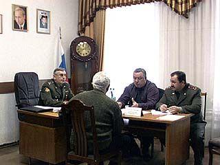 Открылась выездная приемная Министерства обороны
