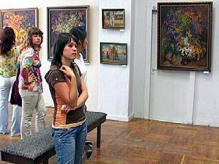 Открылась выставка художника Олега Ардимасова