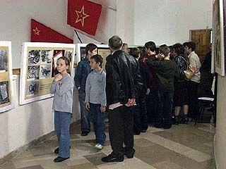 """Открылась выставка """"Кровавый песок Дубовки"""""""