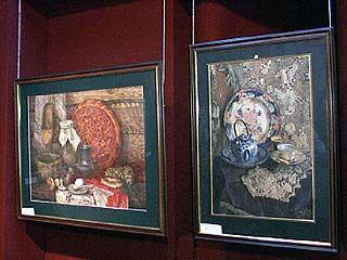 Открылась выставка московской школы акварели Сергея Андрияки