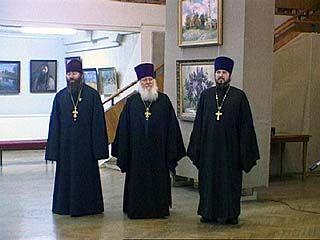 Открылась выставка работ трех воронежских священников