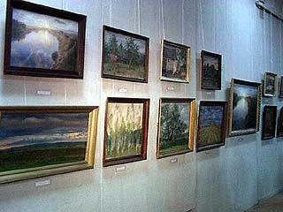 Открылась выставка Василия Попова