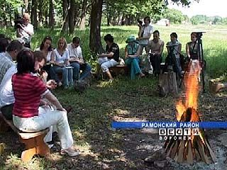 """Открытие фестиваля """"Рамонский родник"""" обсудили прямо на поляне"""