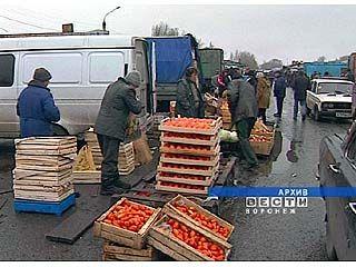 Овощи и фрукты с Речного рынка непригодны для употребления в пищу