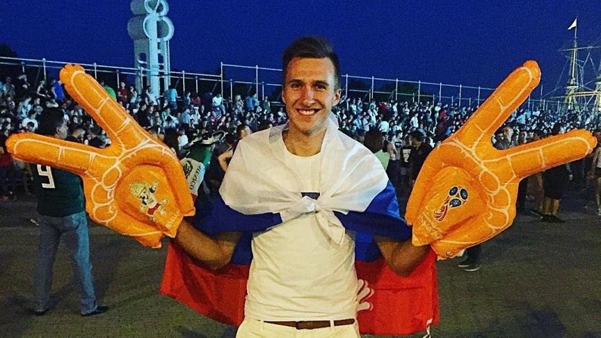 Россия в плей-офф! Как воронежцы встретили историческую победу сборной