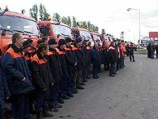 Парад тяжелой снегоуборочной техники прошел в Коминтерновском районе