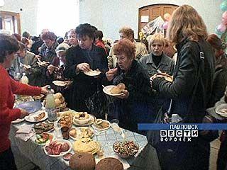 Павловчане принимали гостей из Грибановки