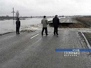 Паводок Воронежской области пока не грозит
