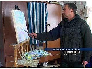 Печник из Октябрьского в свободное время рисует картины