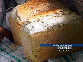 Пенсионеры Гусевы из Таловского района выпекают хлеб дома