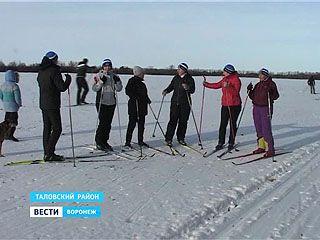 Пенсионеры Таловского района ежедневно пробегают на лыжах до десяти километров