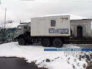 Передвижной кабинет работает в Таловском районе
