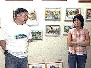 Первая выставка Колесниковых открылась в Воронеже