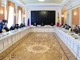 Первое заседание национальной палаты прошло в правительстве области