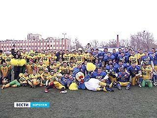 Первый международный матч по американскому футболу - в Воронеже