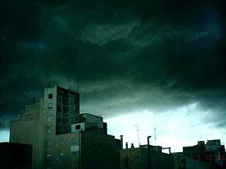 По Воронежской области объявлено штормовое предупреждение