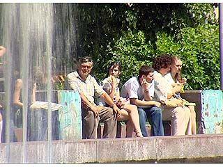 По Воронежской области снова ожидается сильная жара