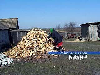 Почему эртильцы топят печки аннинскими дровами?