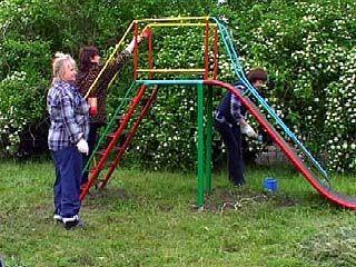 Почему в Воронеже исчезают детские площадки?