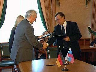 """Подписано соглашение о сотрудничестве области с концерном """"Сименс"""""""