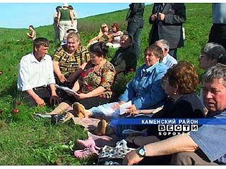 """Поэтический праздник """"Воронцовая Русь"""" финишировал в Каменском районе"""