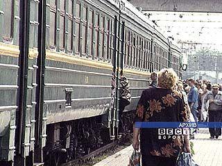 Поезда южного направления следуют измененным маршрутом
