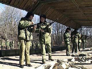 Пограничники провели контрольные занятия по стрельбе