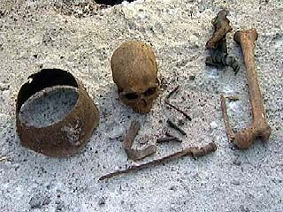 Поисковики вновь обнаружили останки советских солдат в районе СХИ